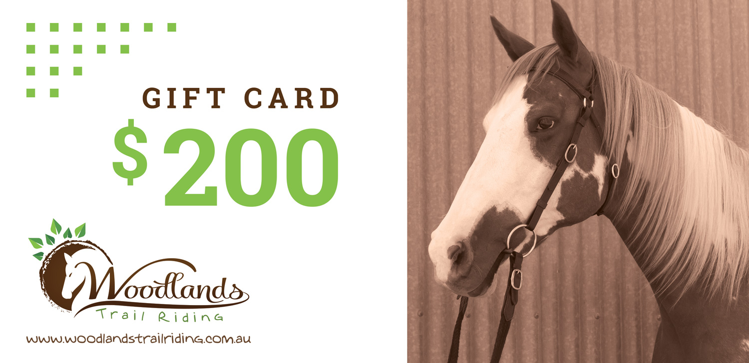 Gift Card - Woodlands Trail Riding
